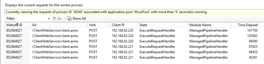 Quick tip: Reindex and clean your WSUS | SCCM is evil